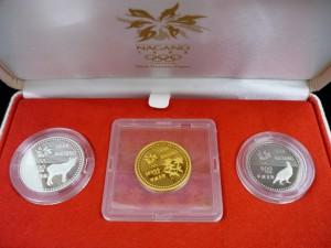 長野オリンピック金貨セット